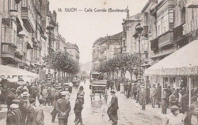 Calle Corrida, Gijón